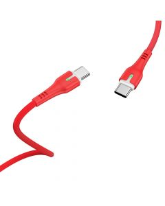 HOCO cable Type C - Type C Surplus Power Delivery PD60W X45 1 meter red