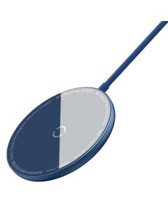 BASEUS wireless charger Simple Mini Magnetic 15W for MagSafe Iphone blue WXJK-H03