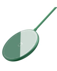 BASEUS wireless charger Simple Mini Magnetic 15W for MagSafe Iphone green WXJK-H06