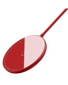 BASEUS wireless charger Simple Mini Magnetic 15W for MagSafe Iphone red WXJK-H09