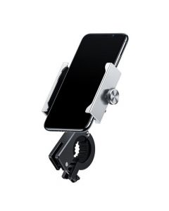 BASEUS bike / motorcycle holder for mobile KNIGHT silver CRJBZ-0S