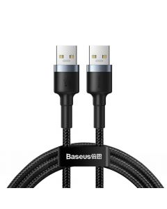 BASEUS cable Cafule USB3.0 Male TO USB3.0 Male 2A 1m Dark gray CADKLF-C0G