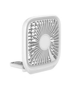 BASEUS vehical fan seat type Foldable white CXZD-02