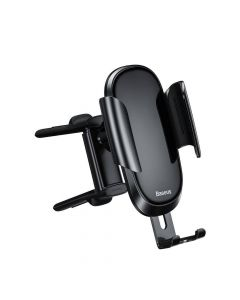 BASEUS car holder to air vent Future Gravity Vehicle-mounted Holder Applicable to Round Air Outlet Black  SUYL-BWL01