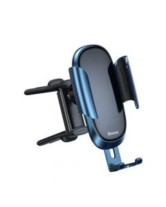 BASEUS car holder to air vent Future Gravity Vehicle-mounted Holder Applicable to Round Air Outlet Blue SUYL-BWL03