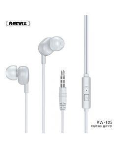REMAX earphone RW-105 white