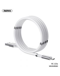 REMAX cable USB - Type C Magnetic-storing 2,1A RC-125a white