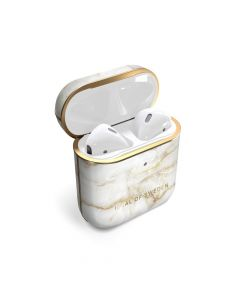iDeal of Sweden case for Airpods 1 / 2 Golden Pearl Marble