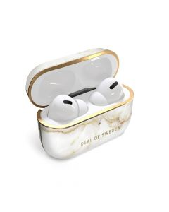 iDeal of Sweden case for Airpods Pro Golden Pearl Marble