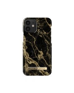 iDeal of Sweden case for IPHONE 12 MINI Golden Smoke Marble