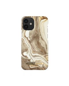 iDeal of Sweden Fashion for IPHONE 12 MINI Golden Sand Marble