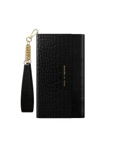iDeal of Sweden Clutch for IPHONE 12 / 12 PRO Jet Black Croco