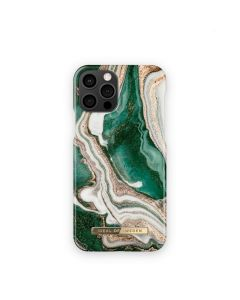 iDeal of Sweden case for IPHONE 12 PRO MAX Golden Jade Marble