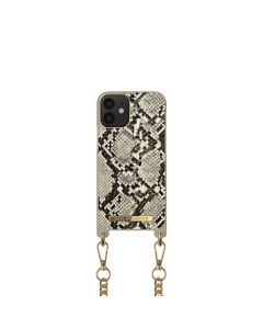 iDeal of Sweden Necklace for IPHONE 12 MINI Desert Python