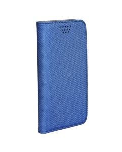Leather Case Smart Book Universal 4,0-4,5  navy blue