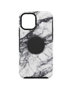 Otterbox case Symmetry POP with PopSockets for iPhone 12 MINI white marble