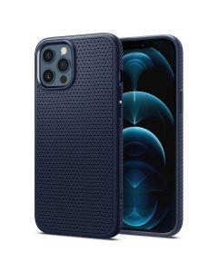 SPIGEN case Liquid Air for IPHONE 12 PRO MAX navy blue