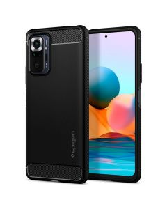 SPIGEN Rugged Armor for XIAOMI REDMI NOTE 10 PRO matte black