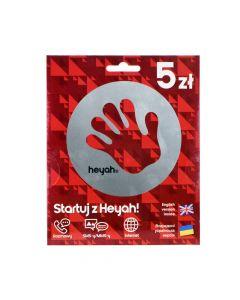 Starter Card Heyah 5
