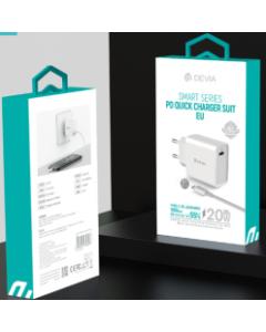 Devia smart series PD quick charger suit (EU,20W)