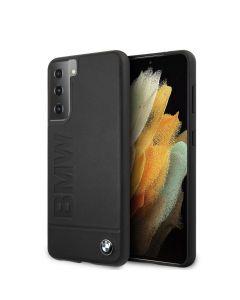 Original faceplate case BMW BMHCS21SSLLBK Samsung S21 black