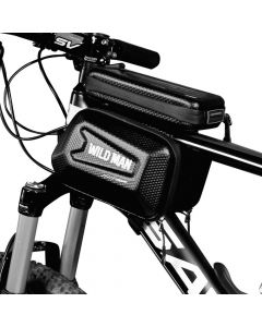 Bicycle holder / front beam bag with touch screen with zipper WILDMAN ES6 1L 4 - 7