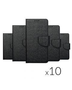 Fancy Book (SET 10in1) - MULTIPACK for SAMSUNG A01 black