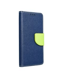 Fancy Book case for SAMSUNG S21 FE navy / lime