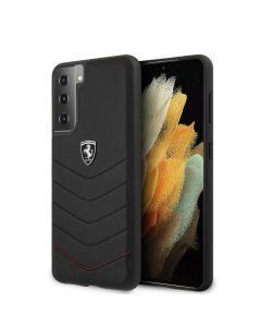 Original faceplate case Ferrari FEHQUHCS21MBK Samsung S21 Plus black