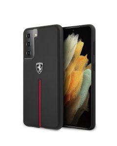 Original faceplate case Ferrari FEOSIHCS21MBK Samsung S21 Plus black