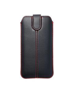 Forcell Pocket Case Ultra Slim M4 - for Iphone 13 MINI / 12 MINI /6/7/8 / Samsung i9500 Galaxy S4/Galaxy A3 black