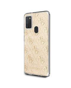 Original faceplate case GUESS GUHCM21PCU4GLGO Samsung M21  gray