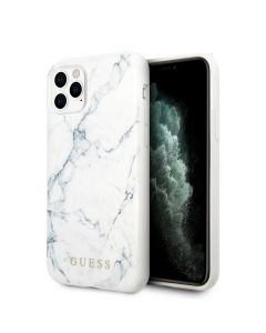 Original faceplate case GUESS GUHCN65PCUMAWH iPhone 11 Pro Max white