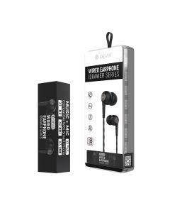 DEVIA Idrawer series wired earphone (8PCS/Set) - black