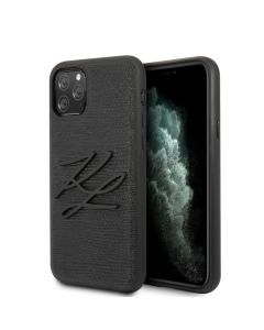 Original faceplate case KARL LAGERFELD KLHCN65TJKBK iPhone 11 Pro Max black
