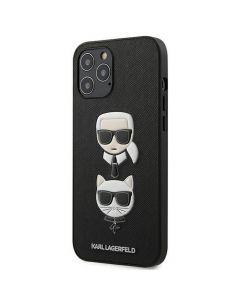 Original faceplate case KARL LAGERFELD KLHCP12LSAKICKCBK iPhone 12 PRO MAX black