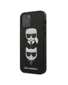 Original faceplate case KARL LAGERFELD KLHCP12MSAKICKCBK iPhone 12 / 12 PRO black