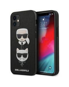 Original faceplate case KARL LAGERFELD KLHCP12SSAKICKCBK iPhone 12 MINI black