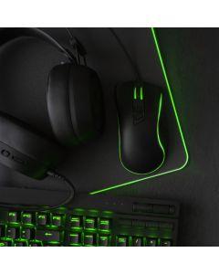 Gaming mousepad 800x300x3mm / black / LED RGB 10 Modes