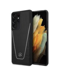 Original faceplate case MERCEDES MEHCS21LCLSSI Samsung S21 Ultra black