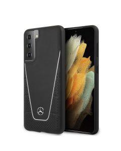 Original faceplate case MERCEDES MEHCS21MCLSSI Samsung S21 Plus black