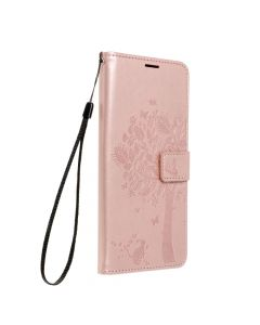 Forcell MEZZO Book case for SAMSUNG Galaxy A02s tree rose gold