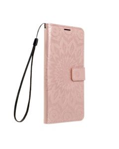 Forcell MEZZO Book case for SAMSUNG Galaxy A02s mandala rose gold