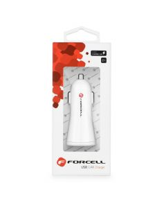 Car Charger Forcell with USB socket - 2,4A with Quick Charge 3.0 function