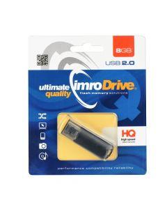 Portable Memory Pendrive Imro Black 8GB