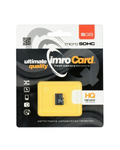 Memory card Imro microSD 8GB without adapter