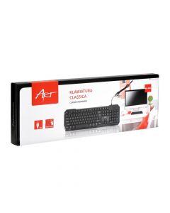 Keyboard Classic on USB black ART AK-46U