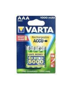 VARTA  Akumulator R3 1000 mAH (AAA) 4pcs ready to use