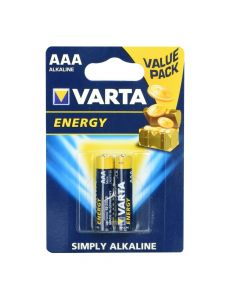 Alkaline batteries Varta R3 (AAA) 2 pcs Energy