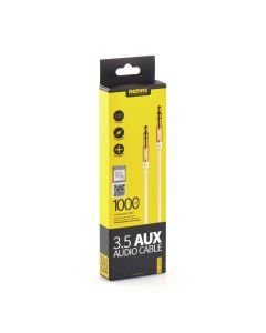 REMAX 3.5mm Aux Jack Cable L100 1m white